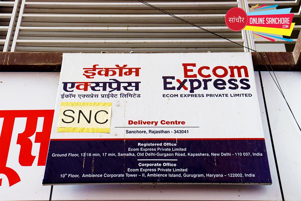 Ecom Express Courier Sanchore